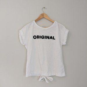 """""""Original"""" Split Tie Back Top"""